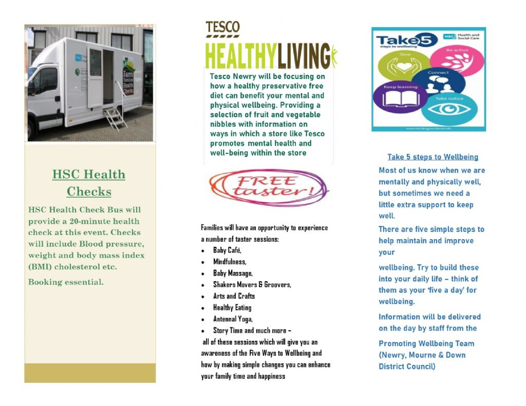 well being day leaflet 2